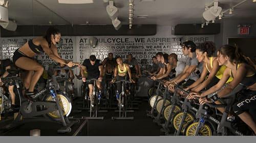 People exercising at Stratus
