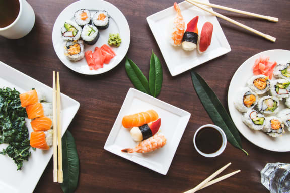 Sushi at Rose Heights Apartments, Raleigh