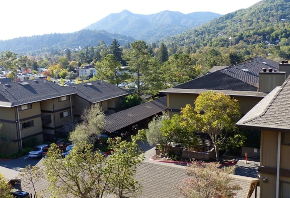 Parkside Apartments_San Anselmo CA_Arial View
