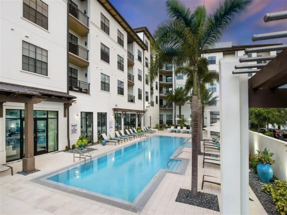 View From Balcony at Azul Baldwin Park, Orlando, Florida