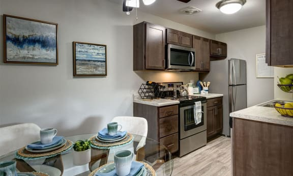 Open Kitchen & Dining Area -  The Clayson in Palatine IL