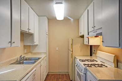 Kitchen at Westchester Park in Tustin CA