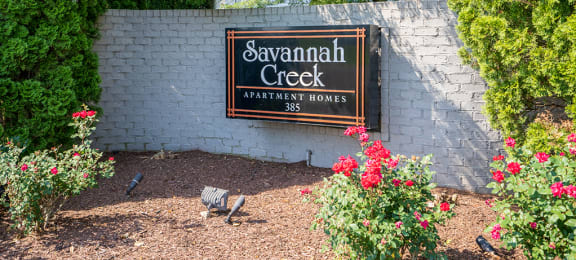 Savannah Creek Monument Sign
