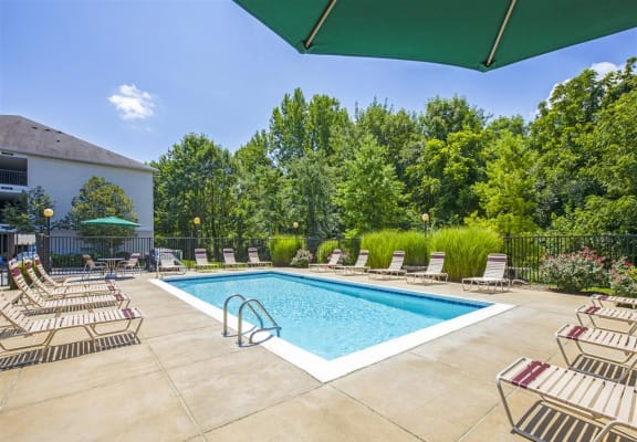 Resort Inspired Pool with Sundeck at Maple Brook Apartments, Kentucky, 40241