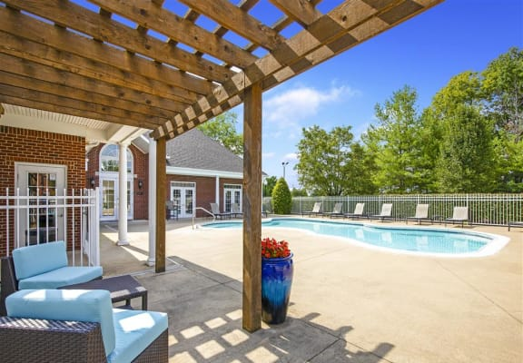 Glimmering Pool and Cabanas at Indian Springs, Kentucky, 40241