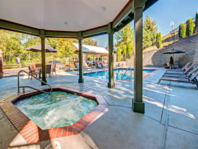 Soothing Spa/ Hot Tub at Willina Ranch, Bothell,Washington