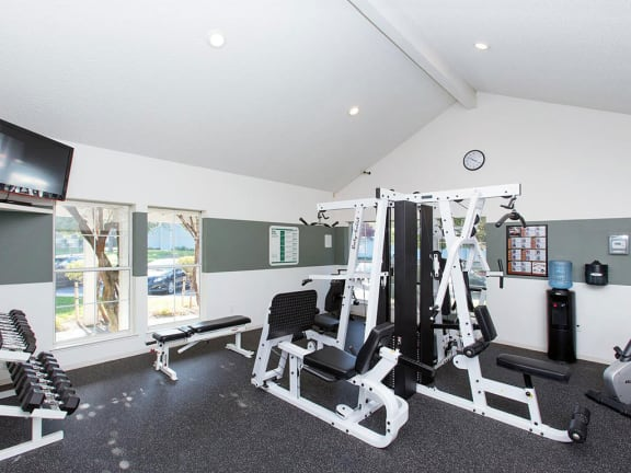 The Arbors apartments fitness center