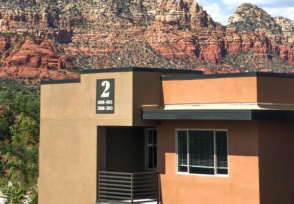 Exterior at Pinon Lofts Apartments in Sedona AZ