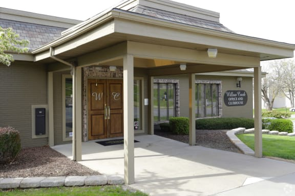 Clubhouse Entrance