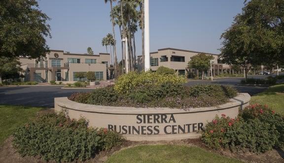Sierra Business Center Monument Sign