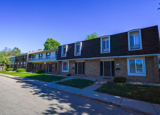 Well Maintained Buildings at Mount Royal Townhomes, Kalamazoo, Michigan