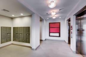 Lobby View - 2828 Zuni - LoHi Apartments