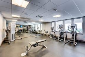 24-Hour Fitness Center at 2828 Zuni in Denver