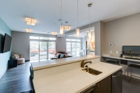 Community Space - 2828 Zuni - Denver LoHi Apartments