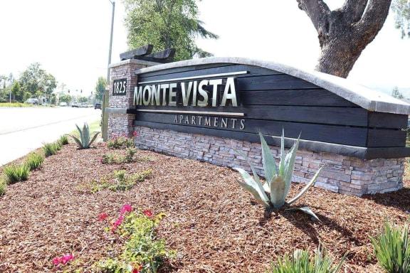 Monte Vista Apartment Homes at Monte Vista Apartment Homes, La Verne, California Signage