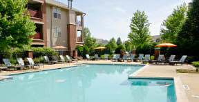 Relax in the Ovaltine Court Pool