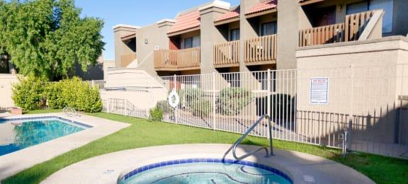 spa at Acacia pointe apartments in glendale az