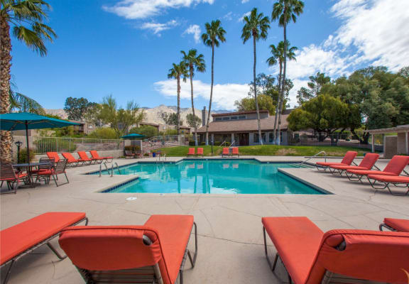 Pool at Sunrise Ridge Apartments in Tucson AZ