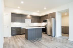 Hub Apartments   Folsom CA  Kitchen