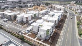 Hub Apartments   Folsom CA  Skyline