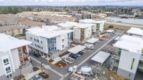 Hub Apartments   Folsom CA  Exterior