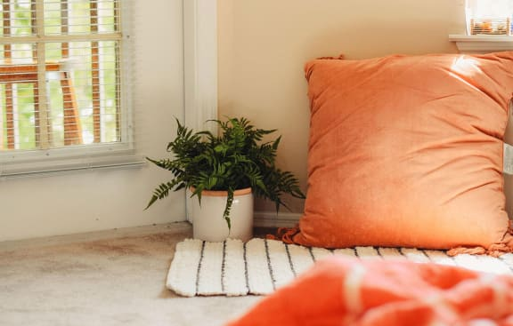 Luxury Sitting Pillow at Mariposa Villas, Dallas, TX, 75211