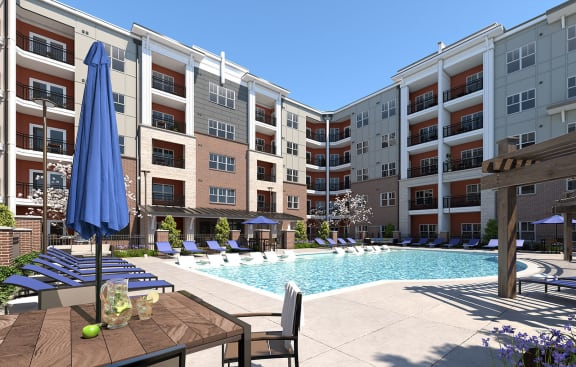 Invigorating Swimming Pool, at NorthPointe, Greenville
