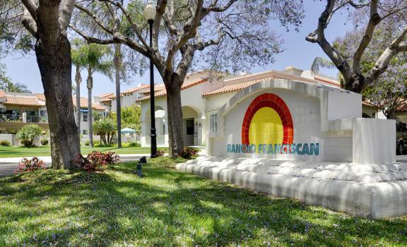 Green community at Rancho Franciscan Santa Barbara, CA