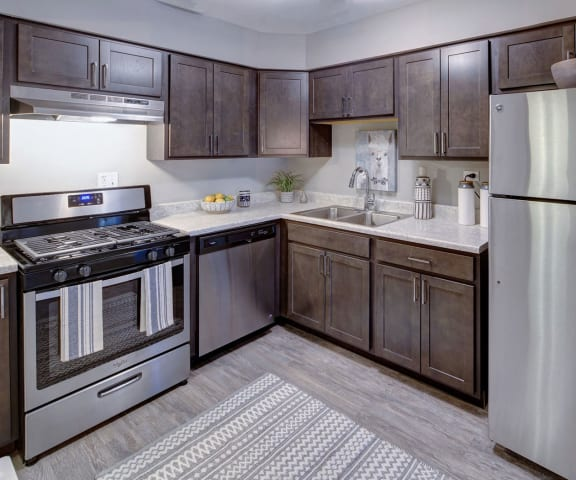Fitted Kitchen at Carol Stream Crossing, Carol Stream, IL, 60188