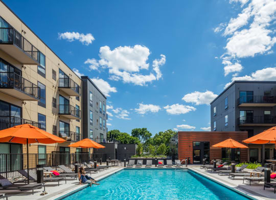 Vintage on Selby Apartments Lifestyle - Pool