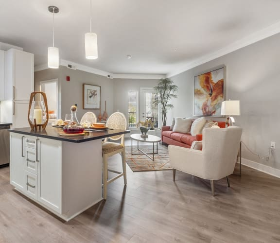 Spacious open concept floorplan