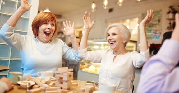 Jenga and Board Games at Citi Vista Senior Living   Reno, NV 89512