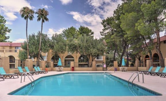 Pool at The View At Catalina Apartments in Tucson AZ