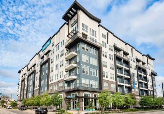 Street view of building at Windsor Shepherd, Houston, TX
