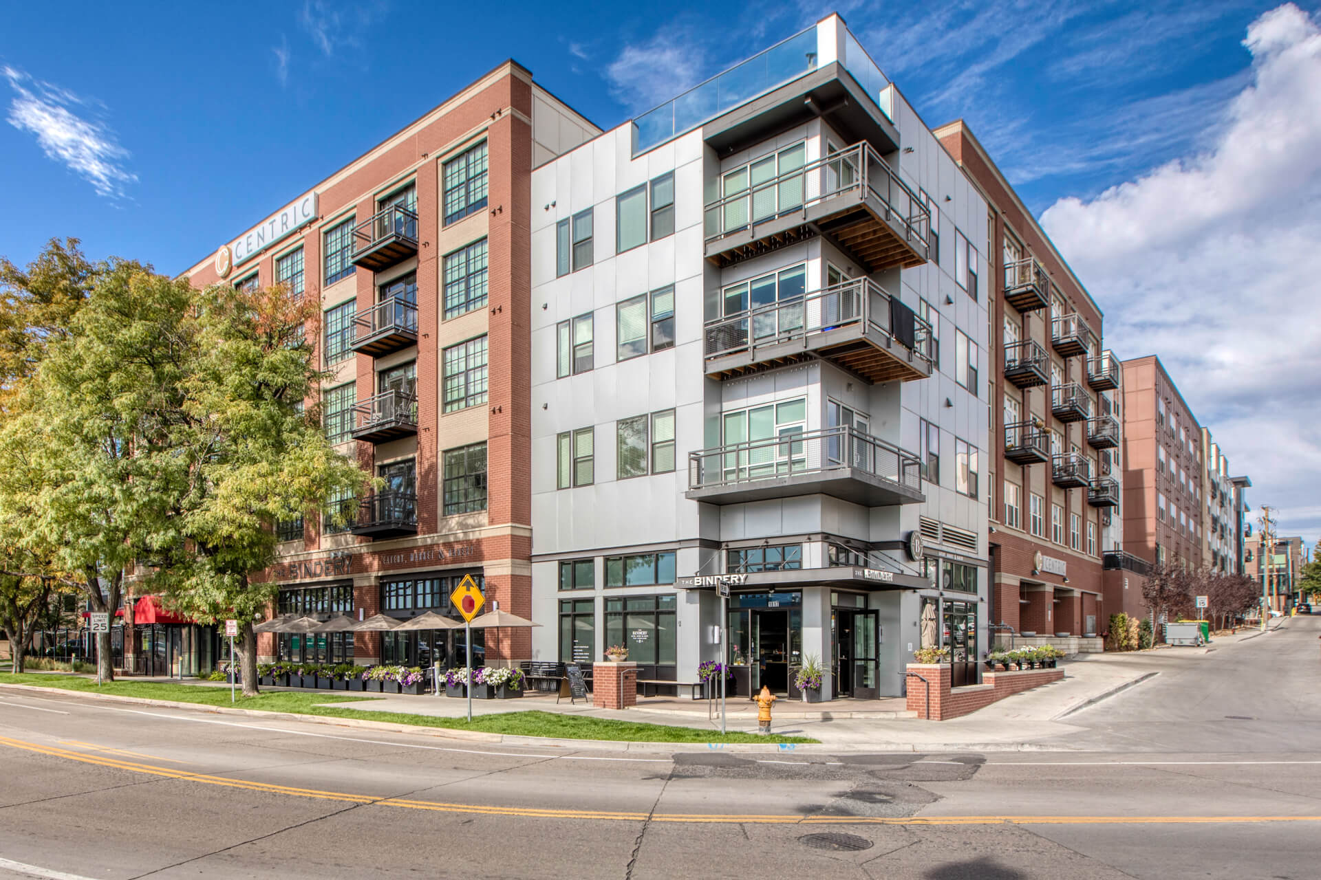 Street view of building at Centric Lohi by Windsor, Denver, CO