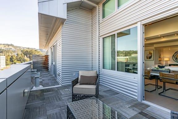 Rooftop Terrace at Berkeley Central in Berkeley, CA