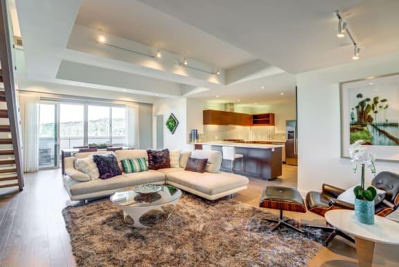 Modern Living Room at Berkeley Central in Berkeley, CA