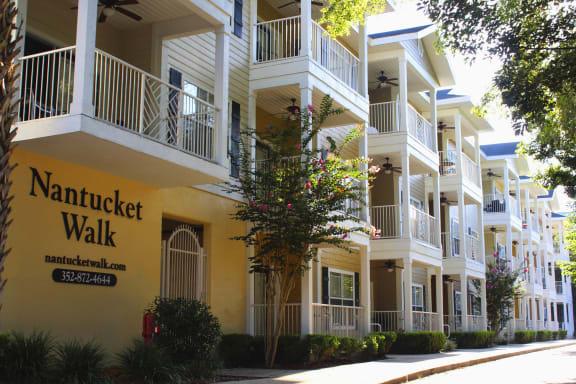 Exterior photo of Nantucket Walk