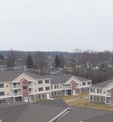 Aerial View at Dutton Estates, St. Clair, Michigan