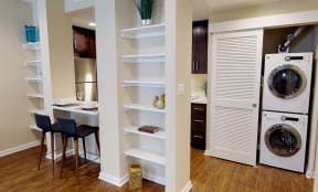 Built in Shelving in the Madison