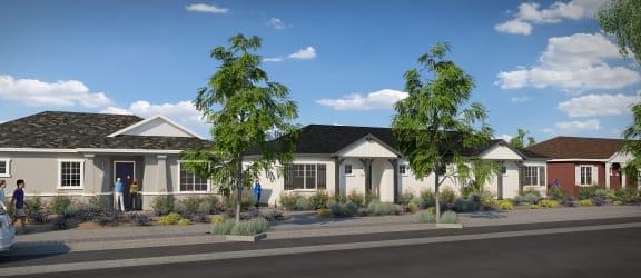 Street View at Parke Place Apartments, P.B. BELL, Prescott Valley, AZ 86314