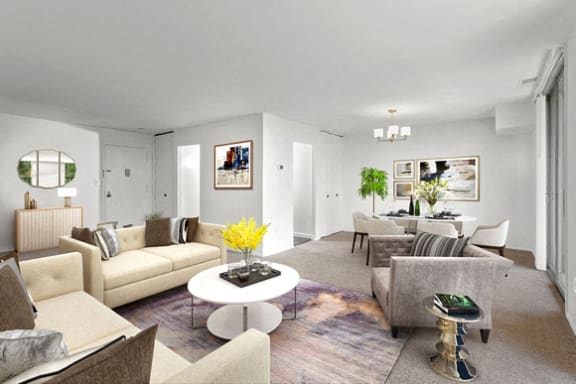 Horizon Square Living Room in Laurel, MD