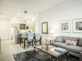Furnished Living room Apartments in San Mateo| Mode Apartments