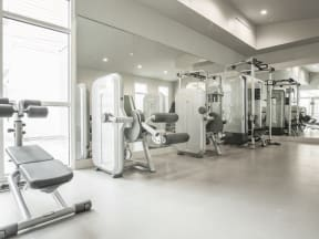 Gym with Cardio Equipment Apartments in San Mateo| Mode Apartments