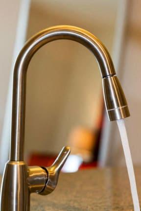 Modern faucet and fixtures at 2828 Zuni - Denver Apartments
