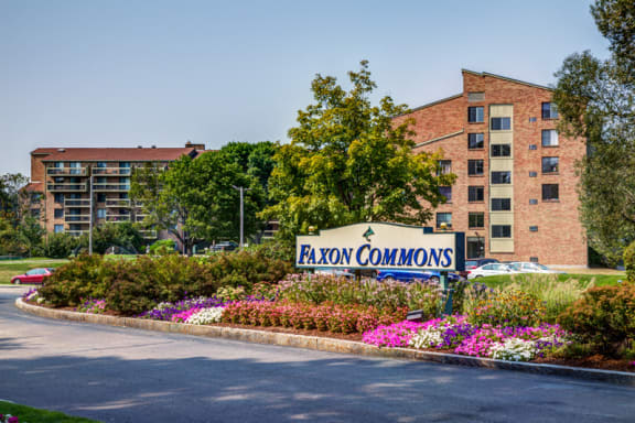 Faxon Commons Entrance Quincy, MA