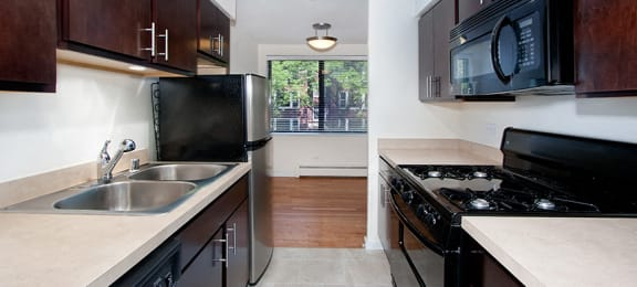 Kitchen at Reside on Pine Grove, Chicago, IL,60613