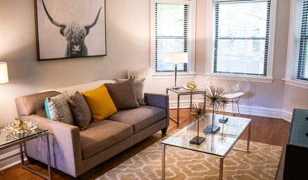 Spacious Living Room at Reside at 849