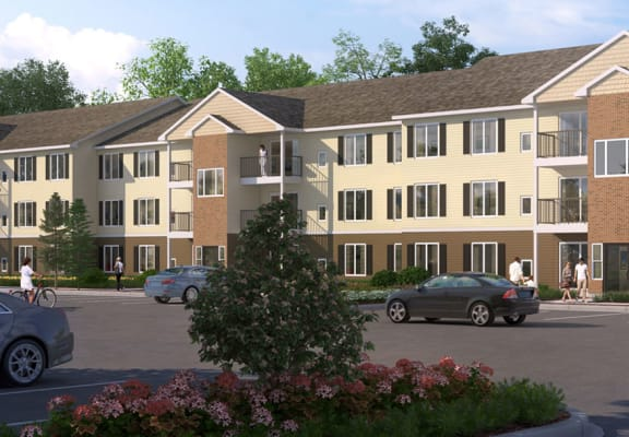 Modern Exterior at Oliver Apartments, Temperance, MI