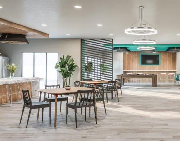 Social Lounge at Link Apartments® Montford, North Carolina, 28209